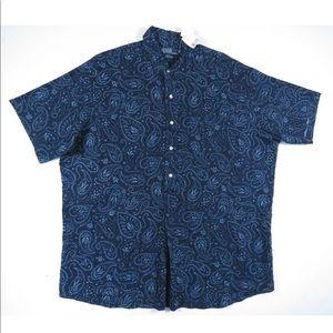 Polo Ralph Lauren Cambridge Linen Button Up Shirt
